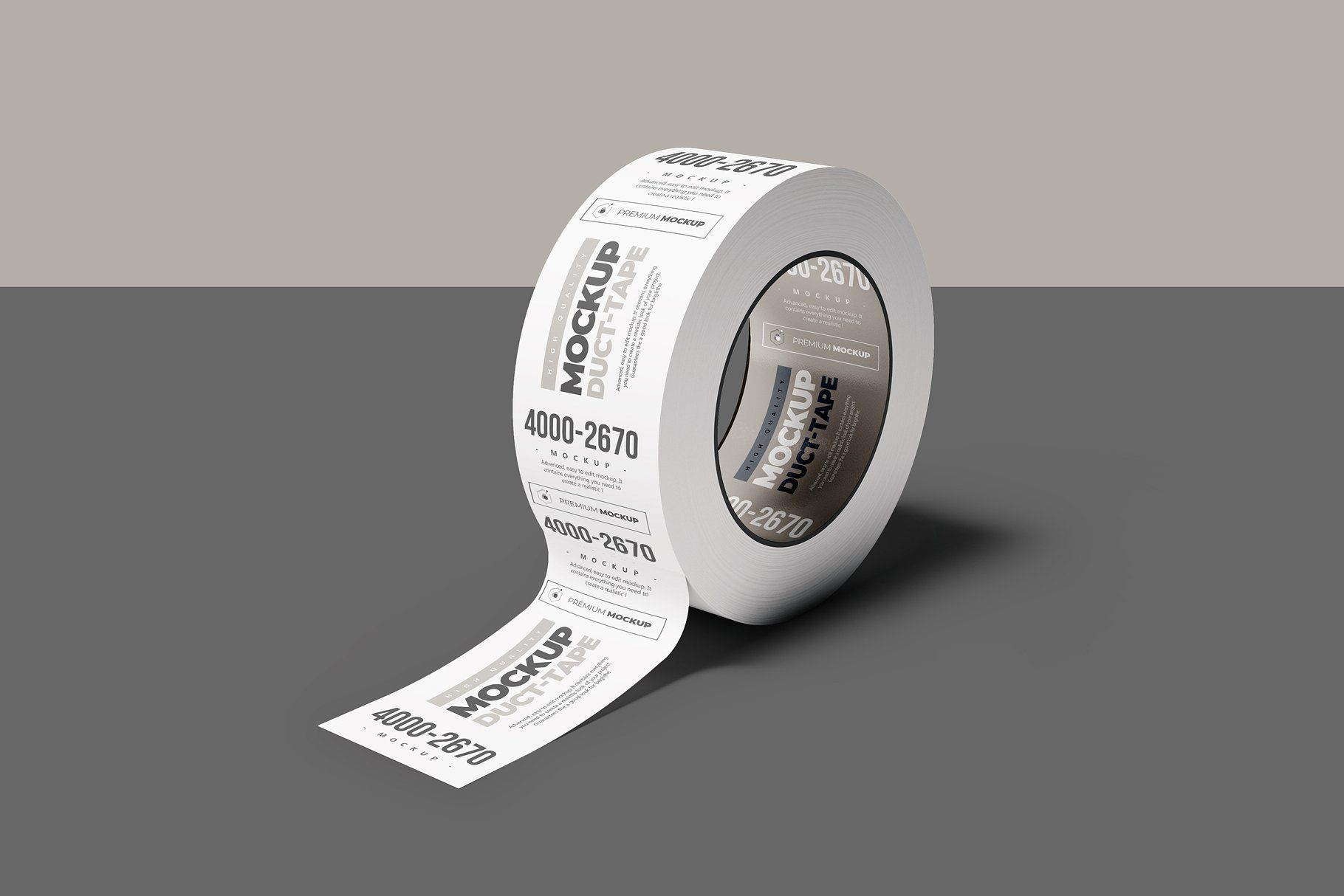 Duct Tape Mock Up 2 Brochure Template Psd Duct Tape Mockup