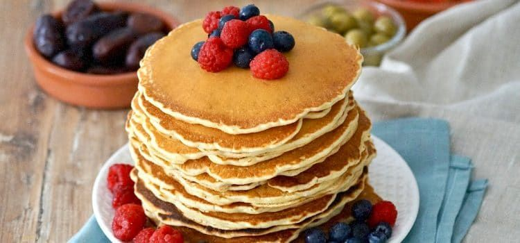 Pancakes Fluffy extra moelleux (sans repos)