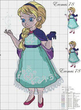 Frozen Cross Stitch