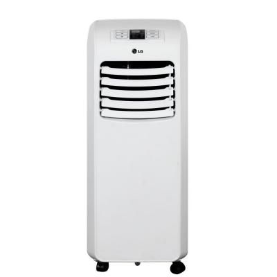 Lg Electronics 8 000 Btu Portable Air Conditioner And Dehumidifier Function With Remote Lp081 Portable Air Conditioner Portable Air Conditioners Lg Electronics