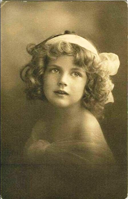 vintage postcard girl XII by MementoMori-stock on DeviantArt