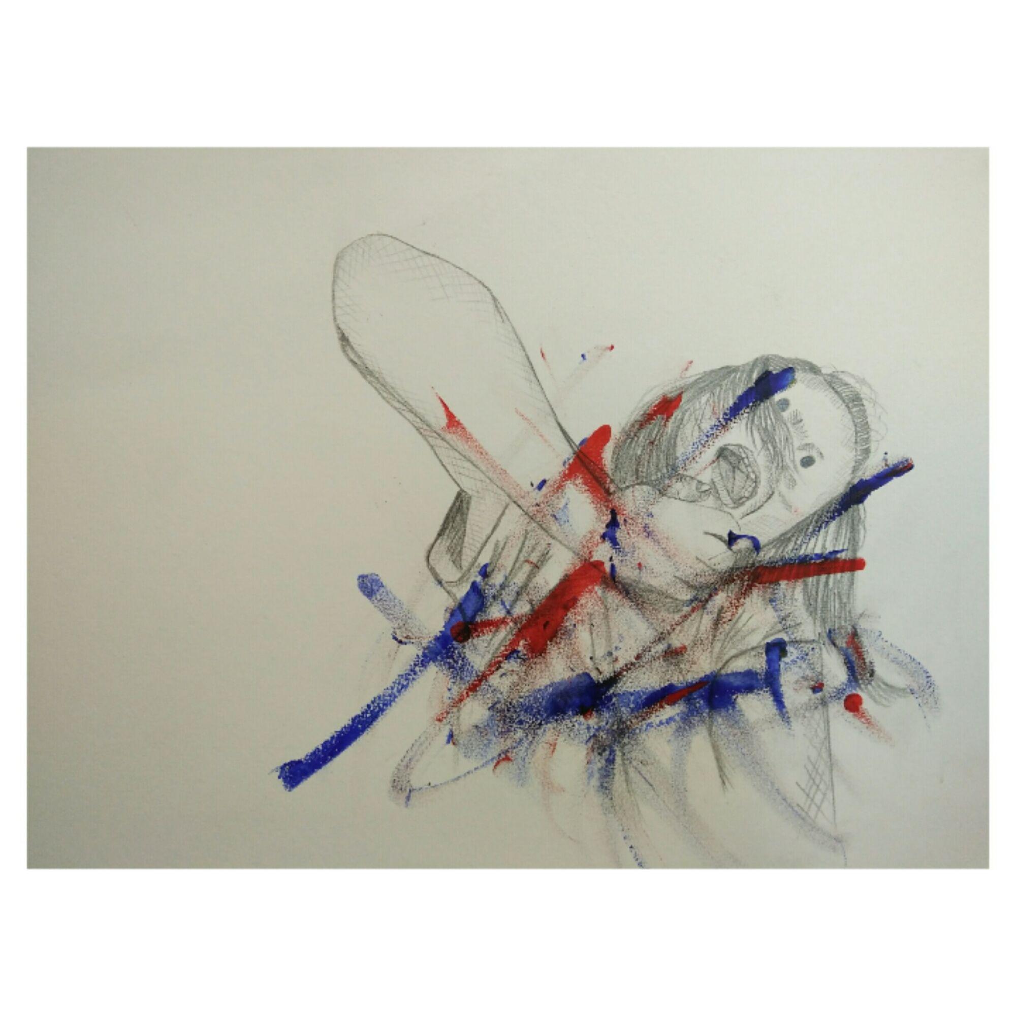 Drawing pencil fineart art ragdoll doll