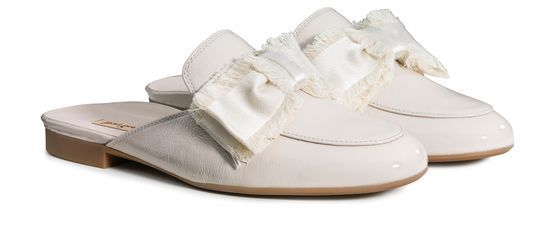separation shoes first look preview of Softer Sabot in Beige mit Schleife - 7241-012 Paul Green ...