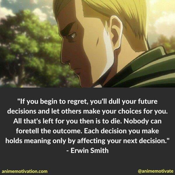 Best Anime Quotes On Life: Attack On Titan, Quotes, Sad Anime