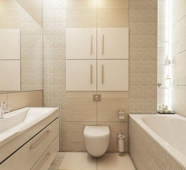 Badezimmer klein ideen badezimmer ideen fliesen klein beige mosaik kleines mit holzoptik- #badez