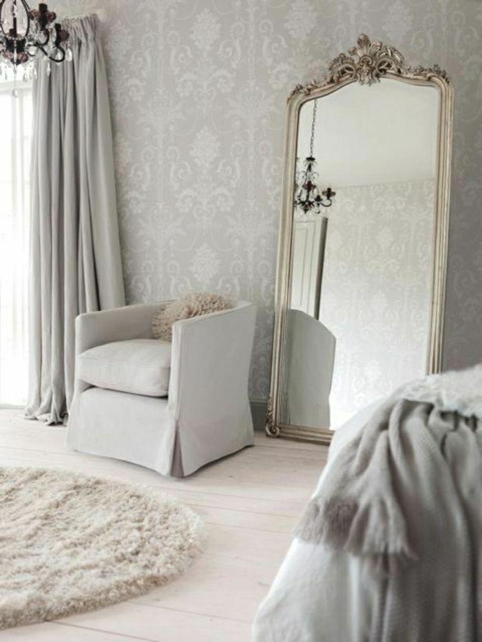 Tapete in Grau - stilvolle Vorschläge für Wandgestaltung - Archzine - tapeten wohnzimmer grau