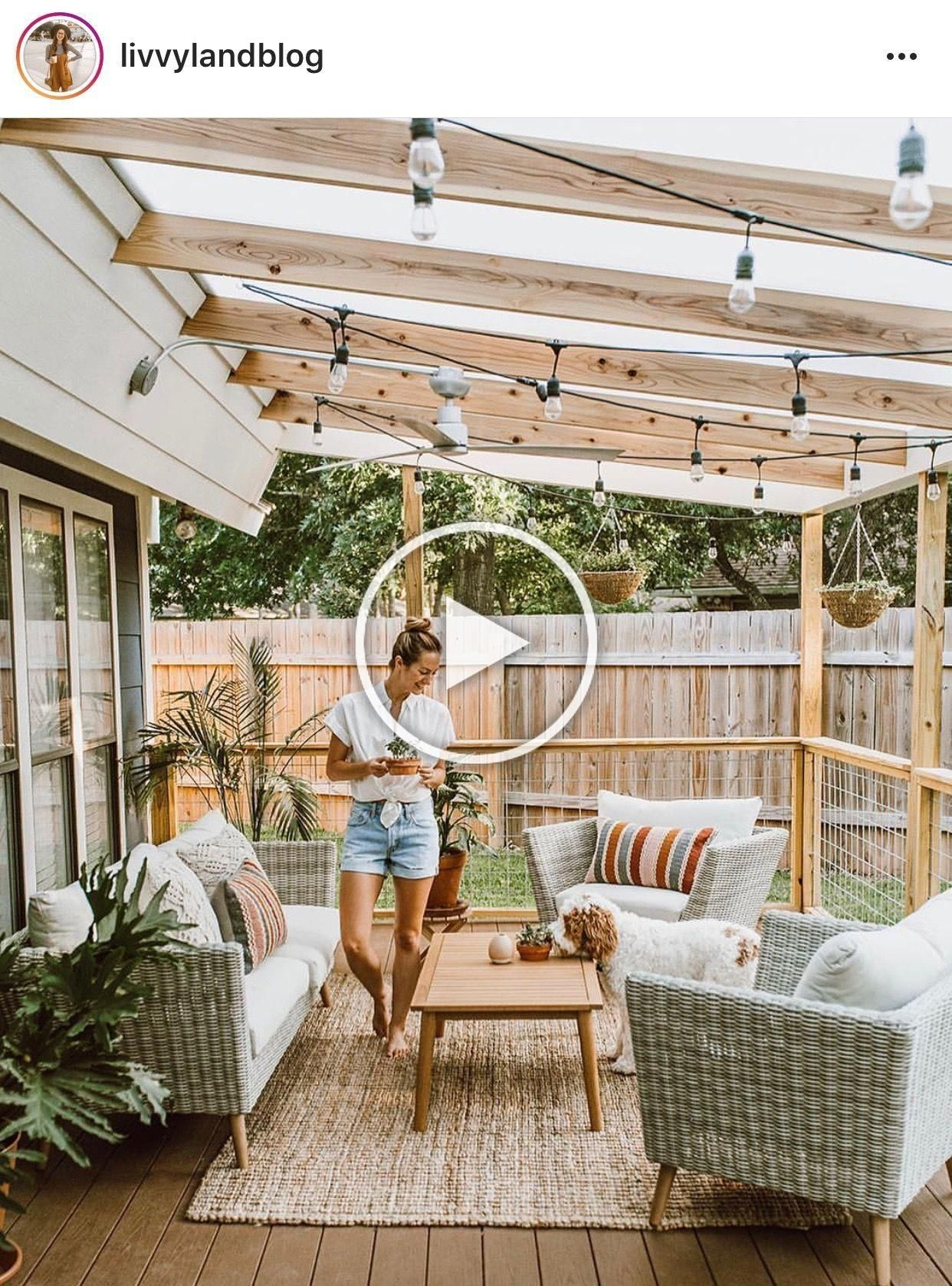 Its Times To Replace That Scrappy Antiquated Roof Are You Wondering How Much It Will Cost To Install A E In 2020 Patio Deck Designs Patio Design Outdoor Covered Patio
