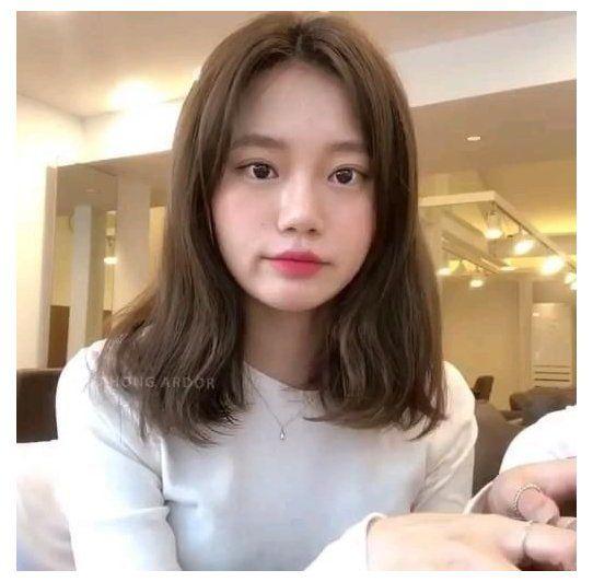 short hair korean style