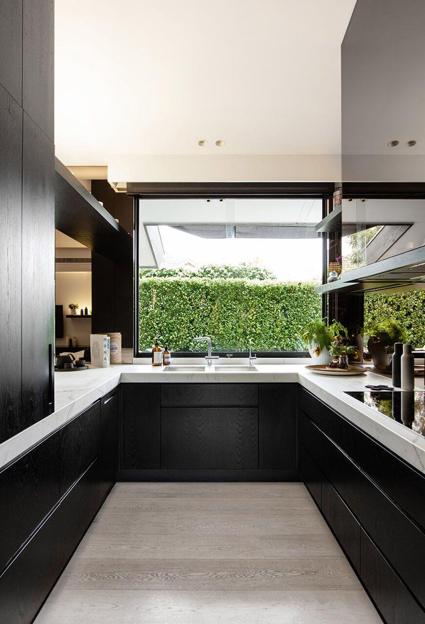 Großes Küchenfenster Kochen mit Genuss: Moderne Küchenfenster Ideen ...