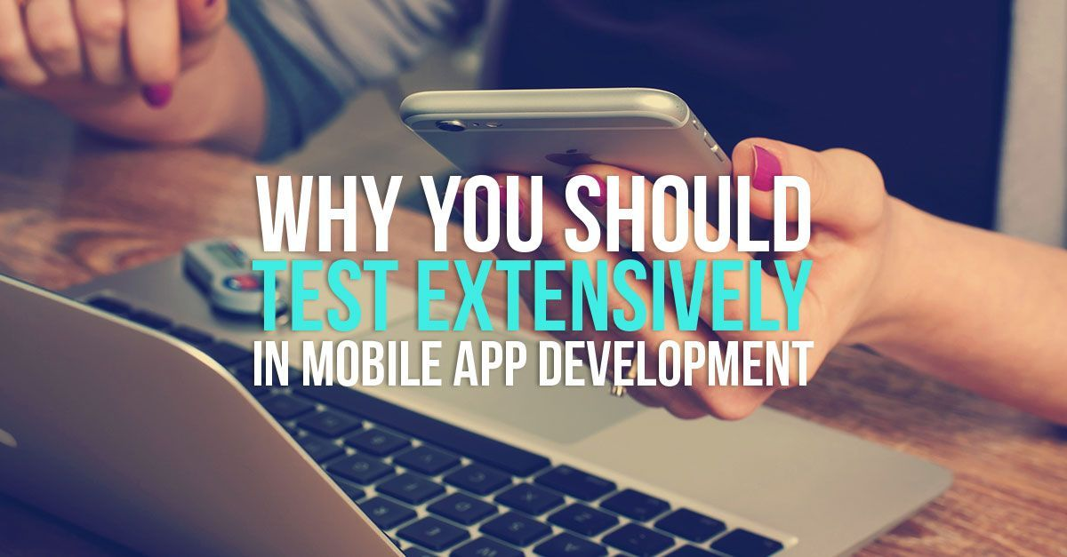 Why mobile application testing is required before launching? Take a look why you test extensively in app development http://bit.ly/2cRok6y