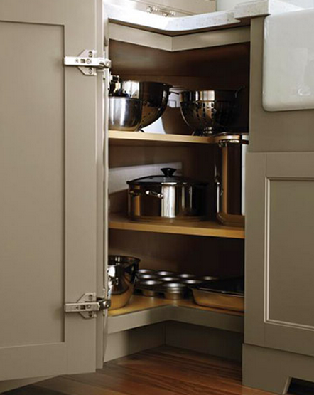 How To Deal With the Blind Corner Kitchen Cabinet // Live ... Ideas Blind Corner Kitchen on blind corner installation, blind corner construction, blind corner cabinet ideas, blind corner upper cabinet,