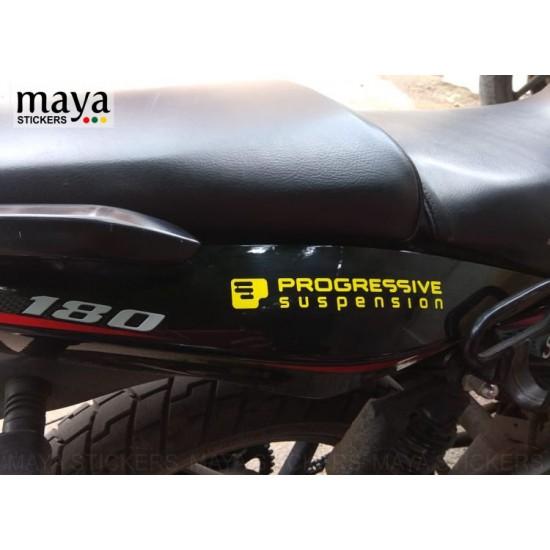 Progressive Suspension Logo Decal Stickers Bike Stickers Logo