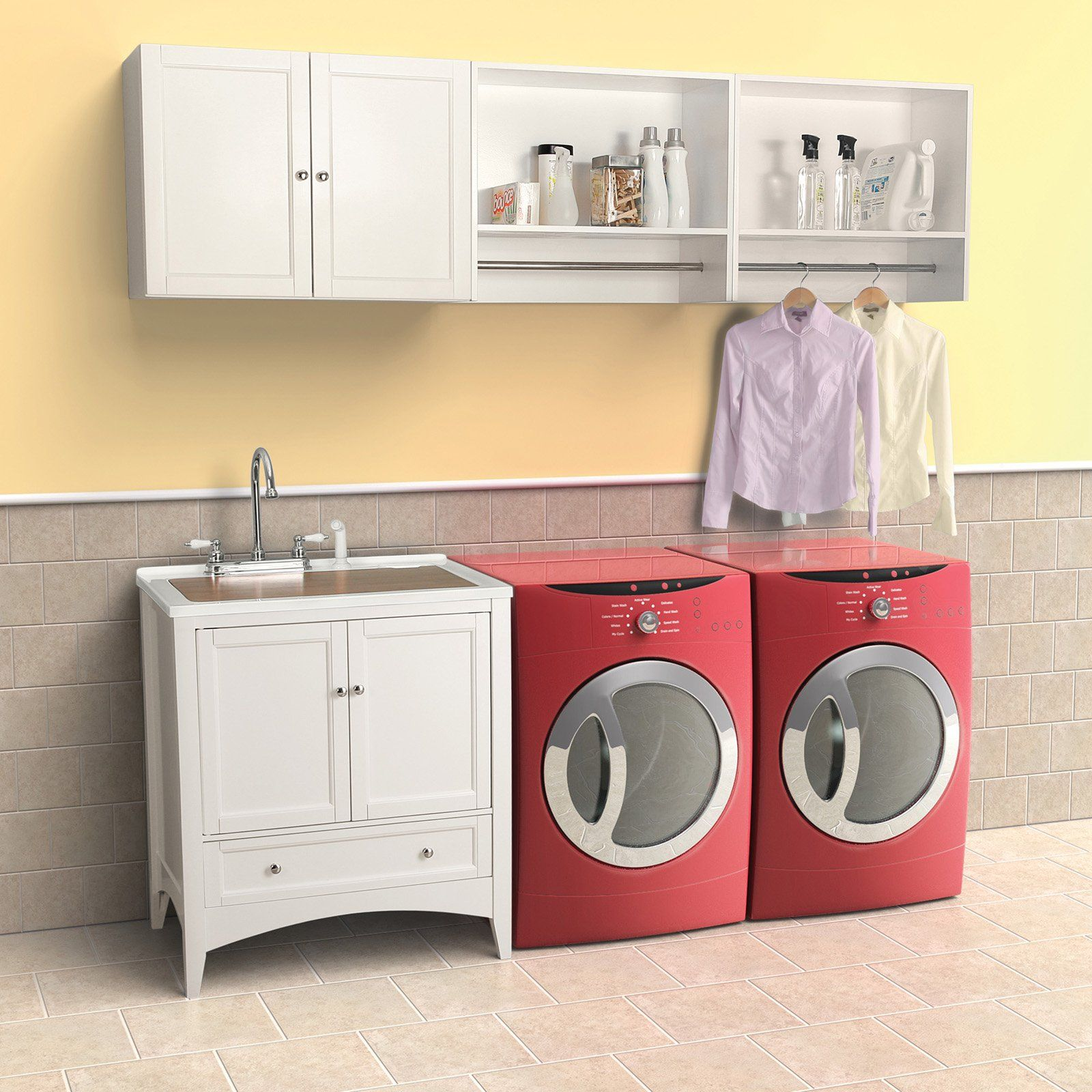 Laundry Room Sink Cabinet Ideas Roselawnlutheran