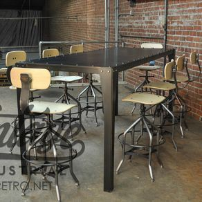 Simple Metal Conference Table By Greg Hankerson