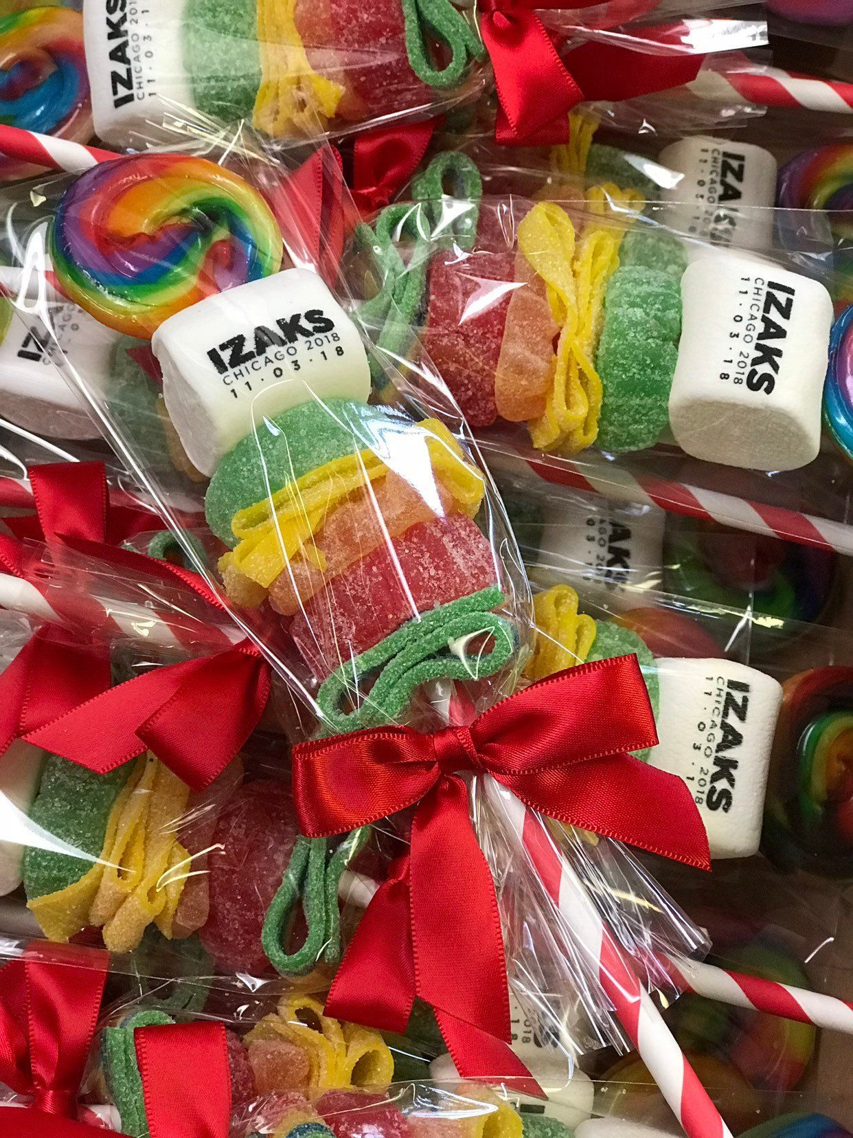 Candy favors kids party favors personalized favor candy