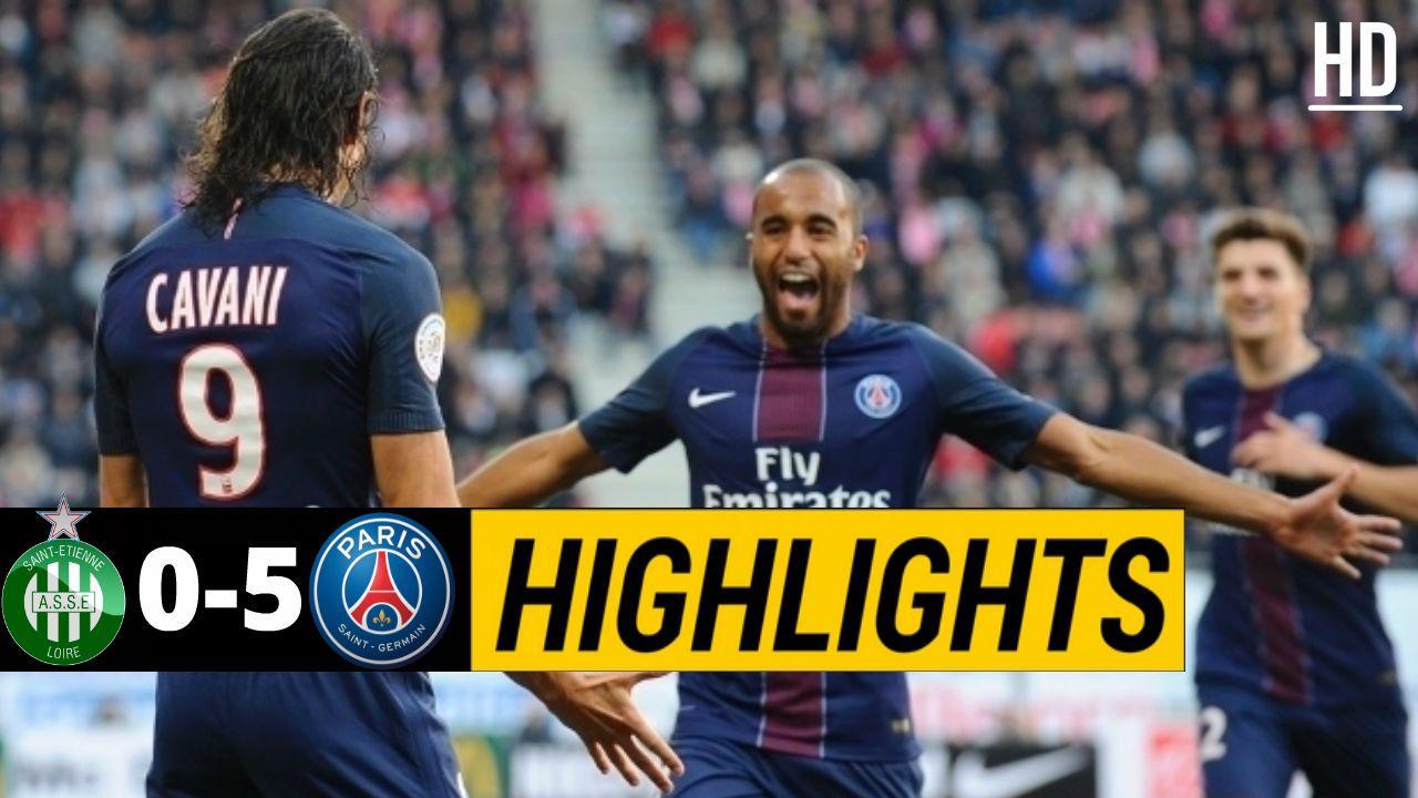 SaintEtienne 05 PSG Highlights May 14, 2017 Psg
