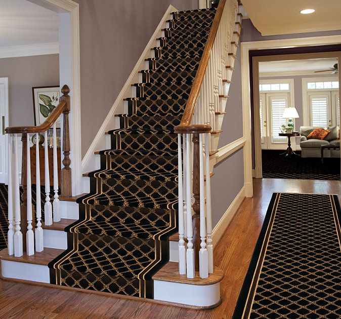 Best Karastan Coventry Trellis Stair Runner Rugs On Carpet 400 x 300