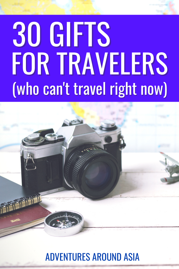 30 Perfect Gifts For Travelers Who Can T Travel Right Now In 2020 Travel Gifts Travel Fun Gift Guide Travel