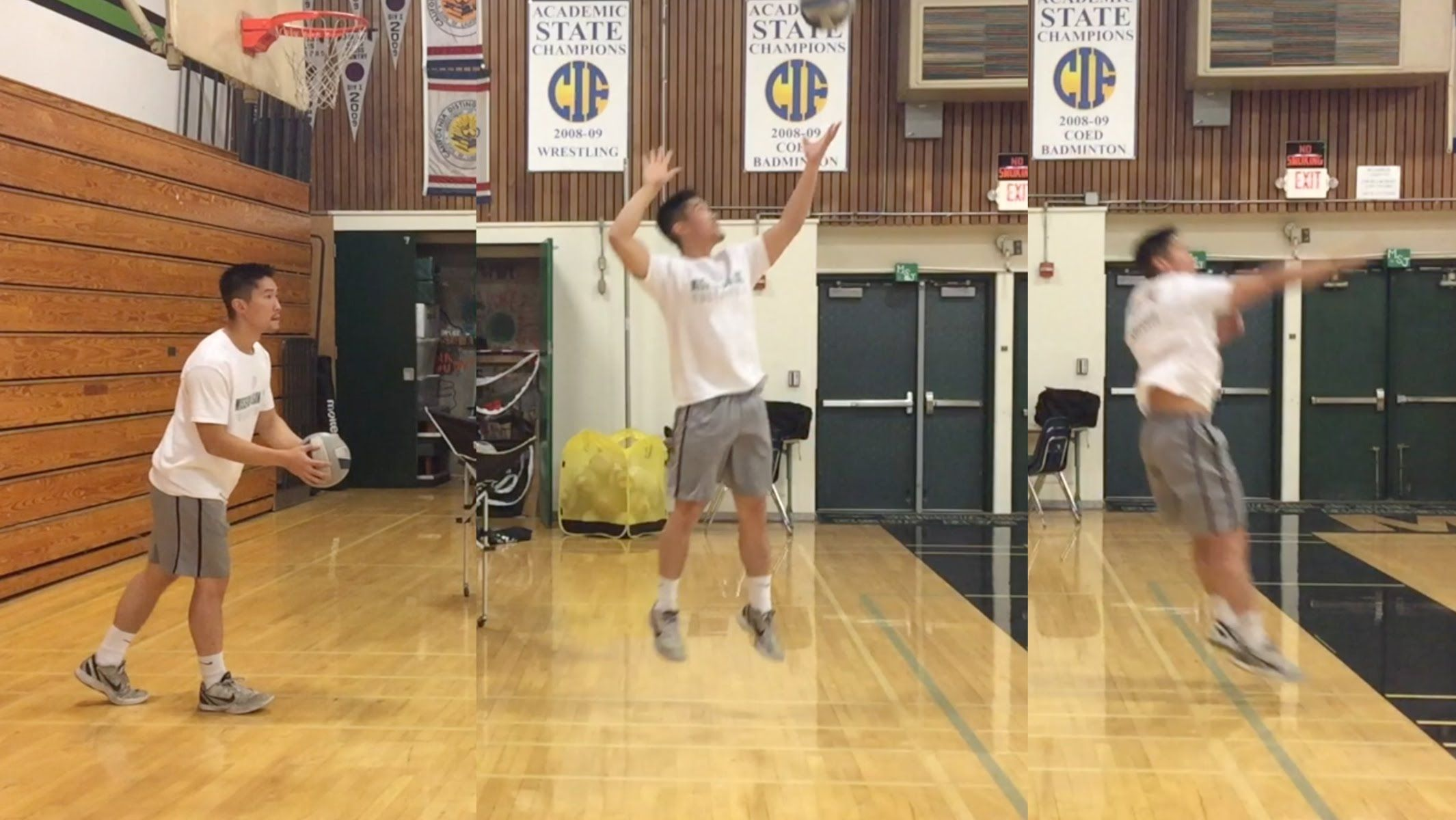 Jump Float Serve How To Serve A Volleyball Tutorial Part 2 3 Youtube Volleyball Training Volleyball Volleyball Skills
