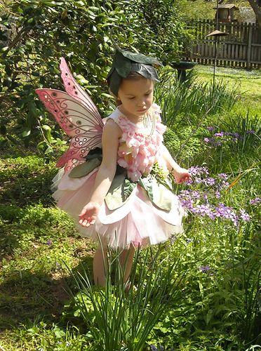Beautiful Garden Fairy Costume