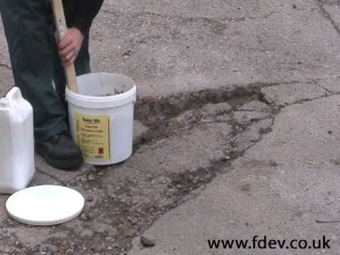 How To Repair A Hole In Concrete Floor Watco You