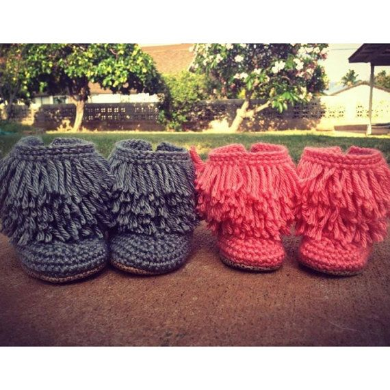 Crochet Moccasin With Fringe Laura Gaskill Charlotte Would Rock
