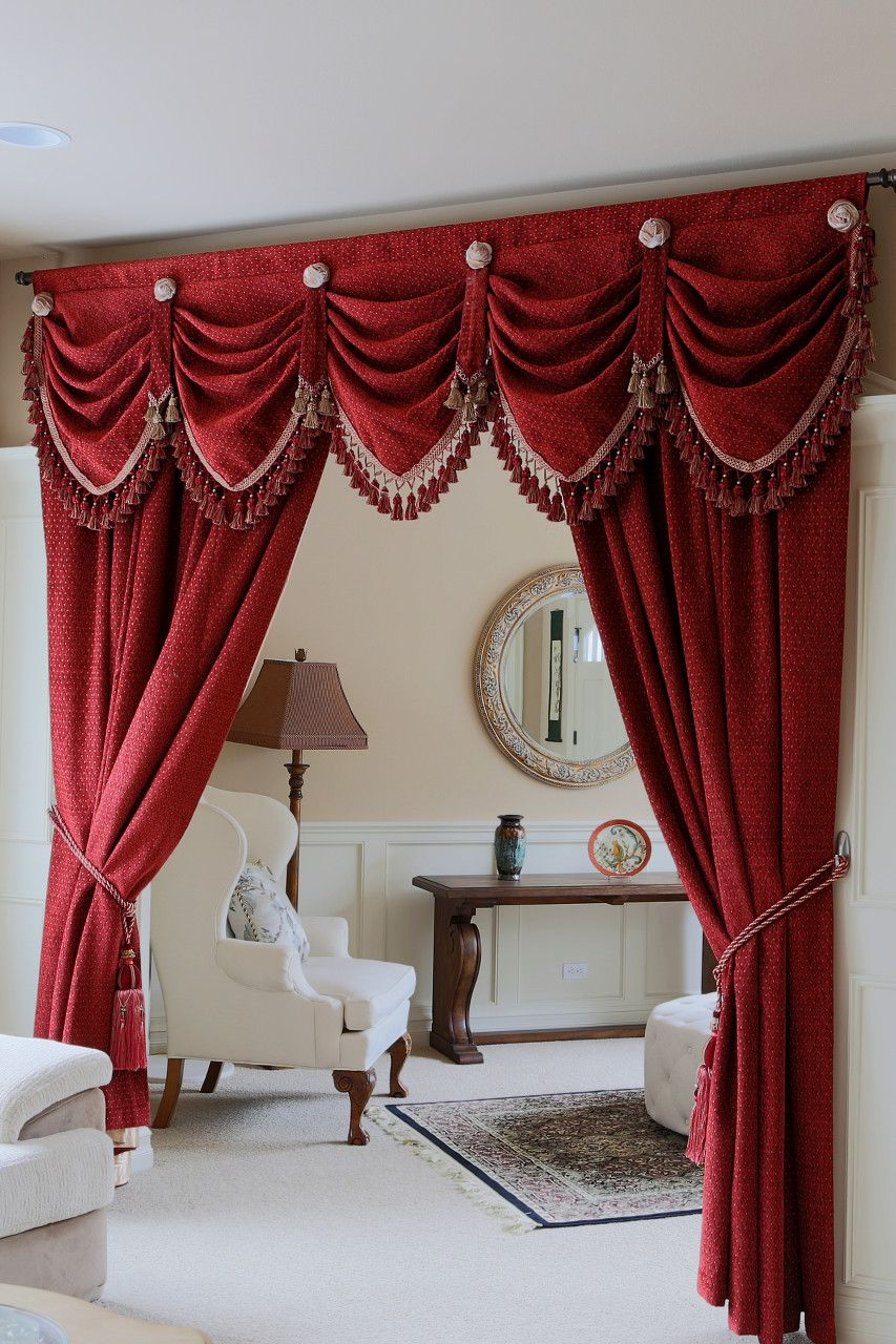 Photo Wall Collage Bedroom Red
