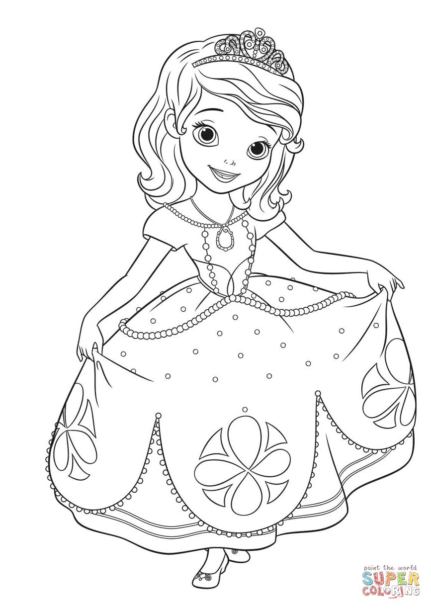 disney first pages princess sofia