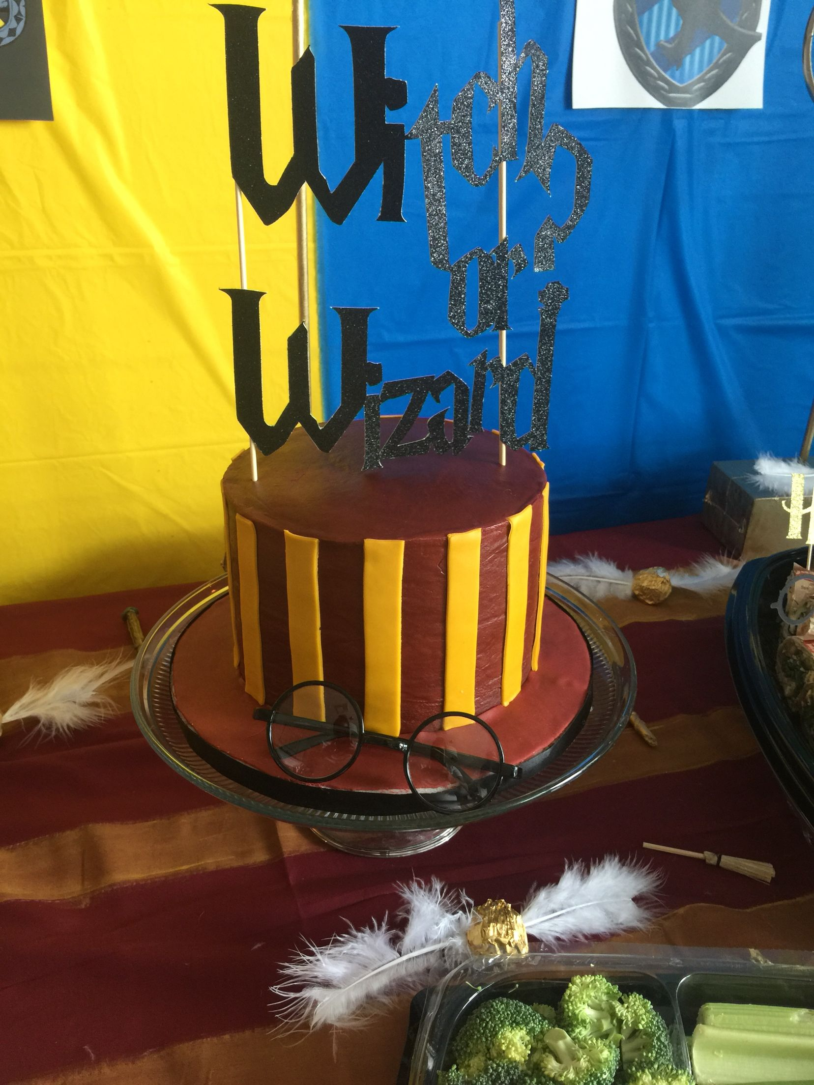 Harry Potter Gender Reveal Party With A Harry Potter Cake