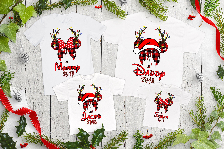 Disney Christmas Family Shirts, Christmas Disney Trip Family Shirts ...