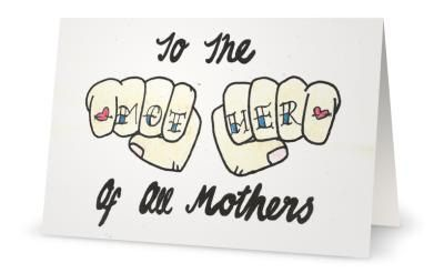 A card for the MOTHER of all mothers birthday, mothers day, thanks for everything, welcome home from jail   a funny hand drawn card for mum is part of Welcome home From Jail - craftybitchempire ©Craftybitchempire  Do not copy or reproduce