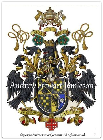 Painted By British Artist And Photographer Andrew Stewart Jamieson Heraldry Design Arm Painting Coat Of Arms