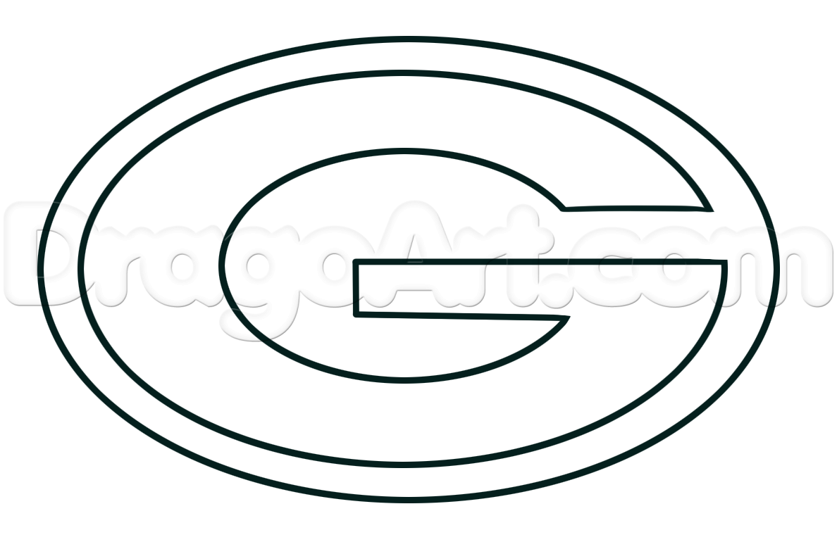 How To Draw The Green Bay Packers Step 3 Green Bay Packers Green Bay Drawings