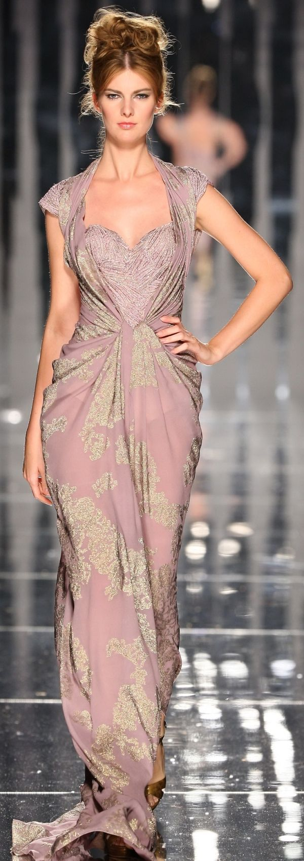 Draw Attention! Designer Gown Dress Abed Mahfouz | Beauty ...