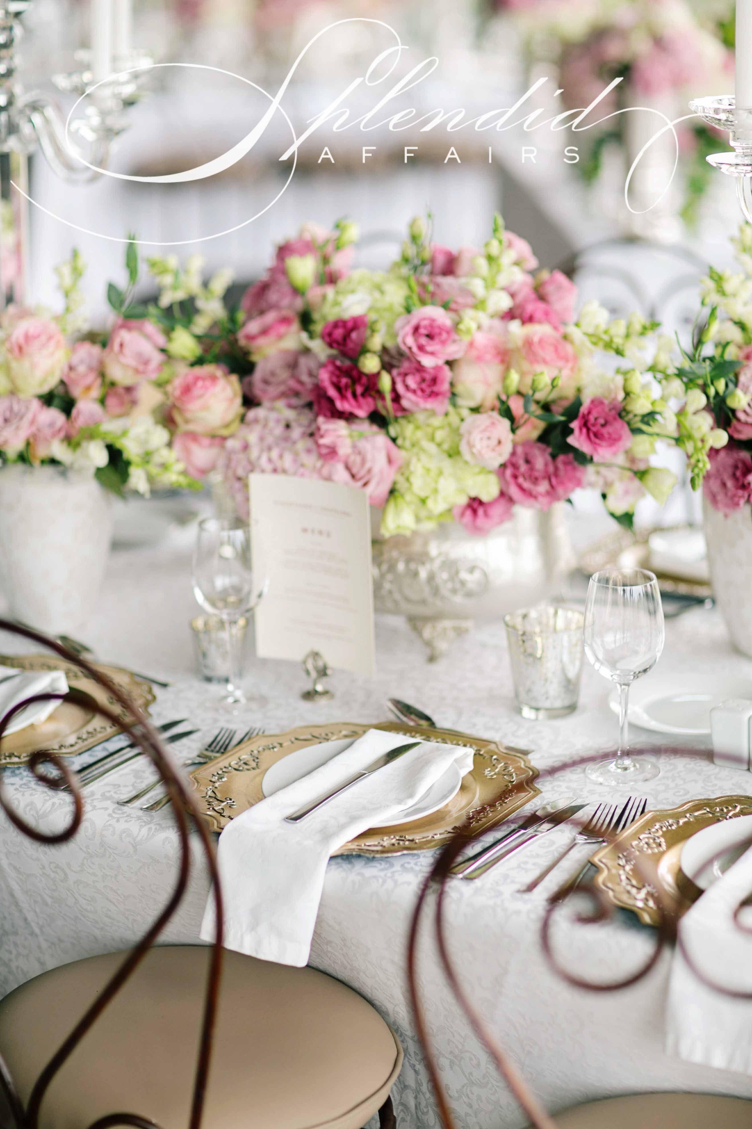 Elegant summer wedding by Splendid Wedding Company. Photography by Tyme Photography