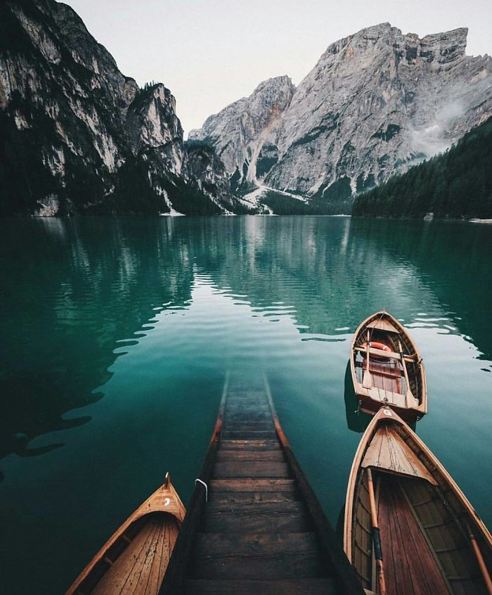 This Lake Triggers My Imagination