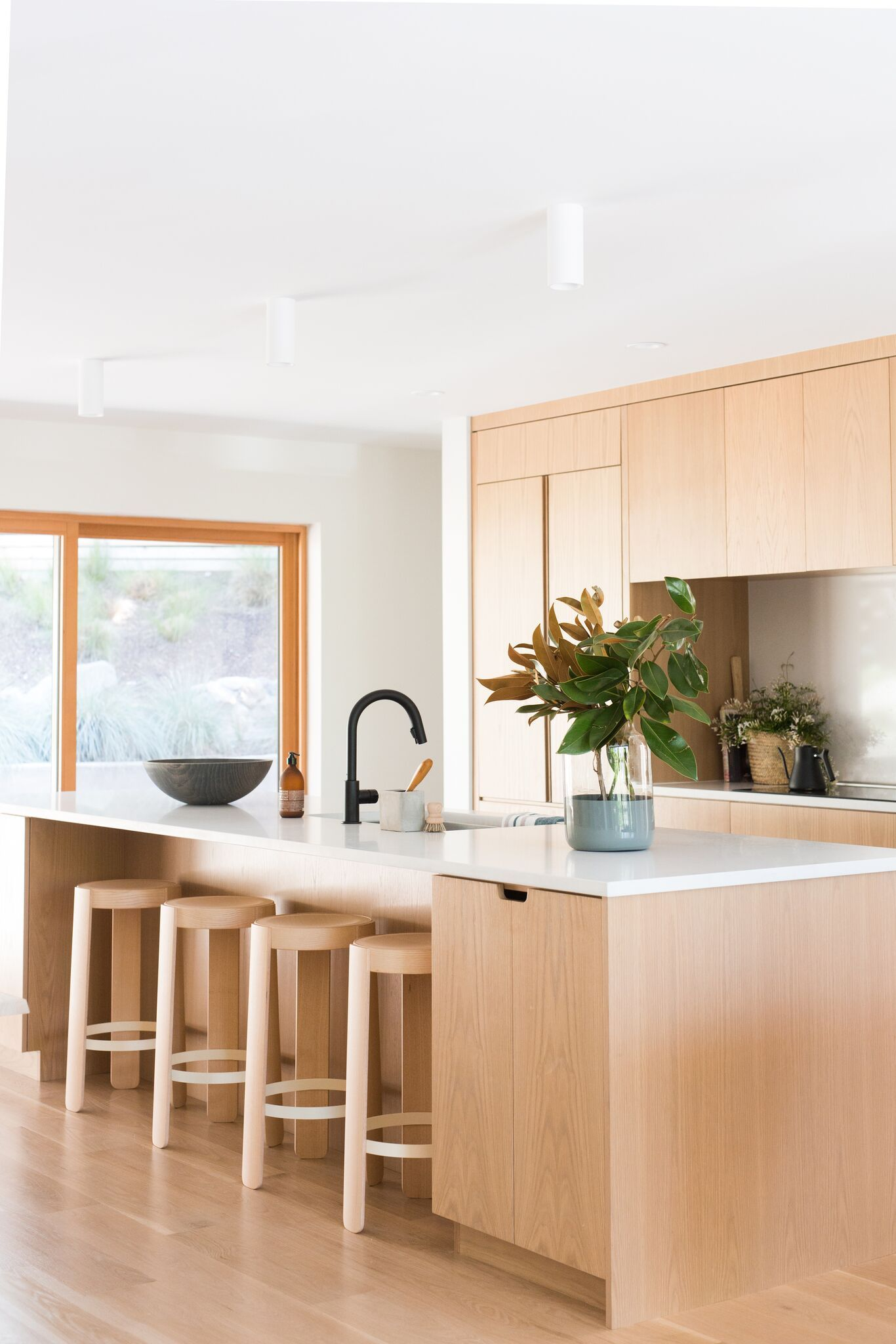 Avenues Modern Project Kitchen bar design, Minimalist