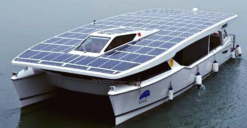 Solar Powered Catamaran Catamaran Power Catamaran Solar