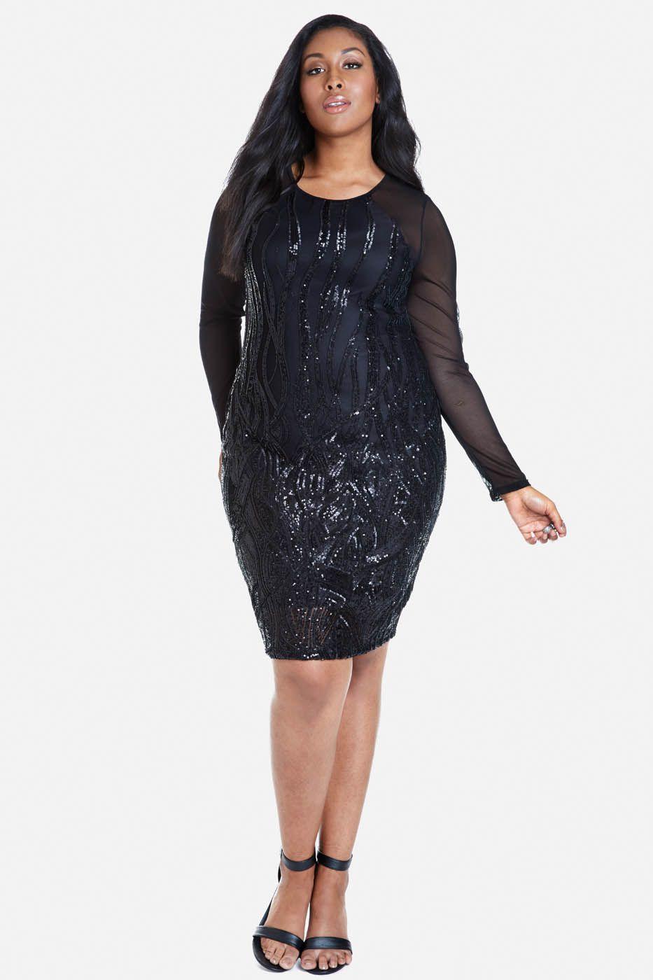 plus size sequin midi dress u2013 show your elegance in 2017