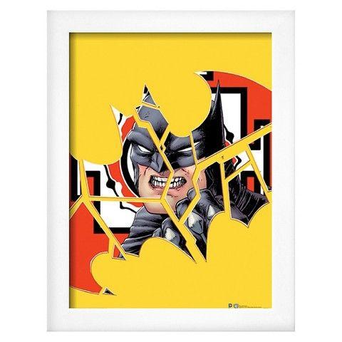 Art.com DC Comics (Batman Cracked)