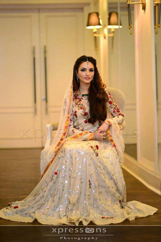 I Think It Will Look Great As A Bridal Dress For Nikkah Event