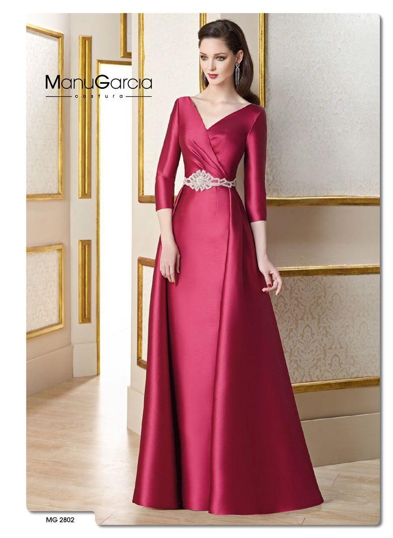MG2802 manu garcia - higar novias - vestidos de fiesta - 2017 ...