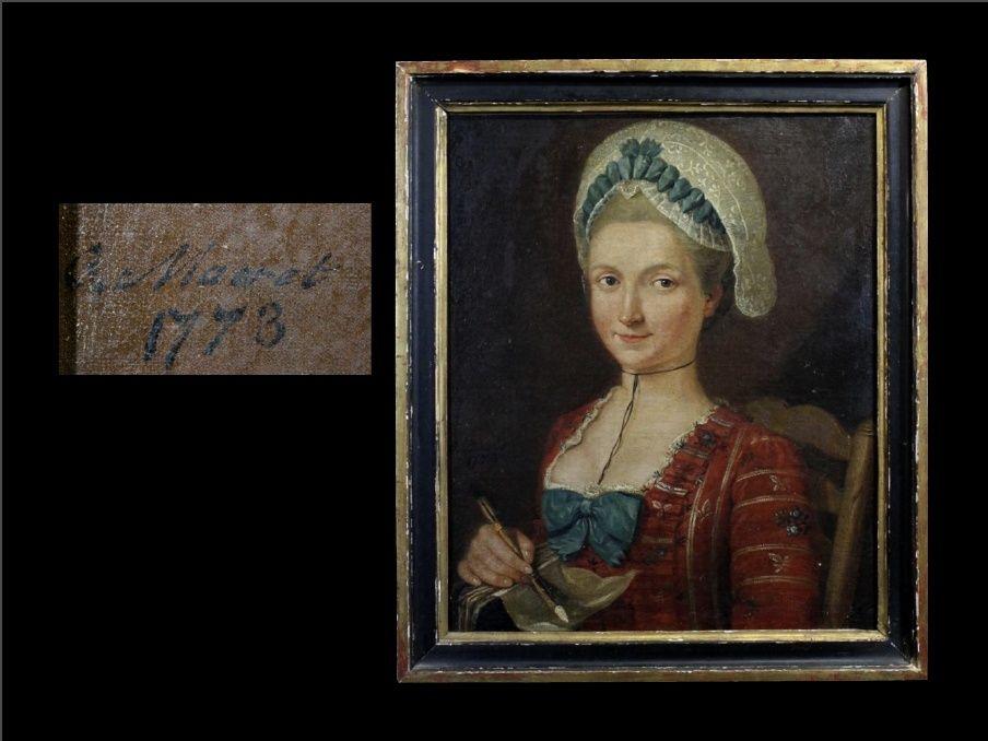 Unknown Sitter by G. Maeret 1773