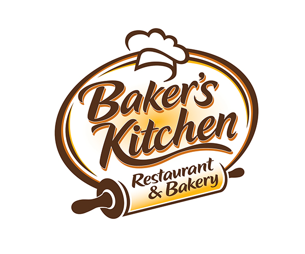 Bakers Kitchen Restaurant And Bakery Logo Vector Free