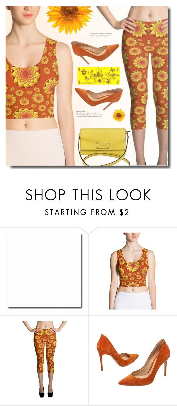 """""""Encourage Spring"""" by polivorka-polivorochka ❤ liked on Polyvore featuring Gianvito Rossi, Kate Spade and Spring"""