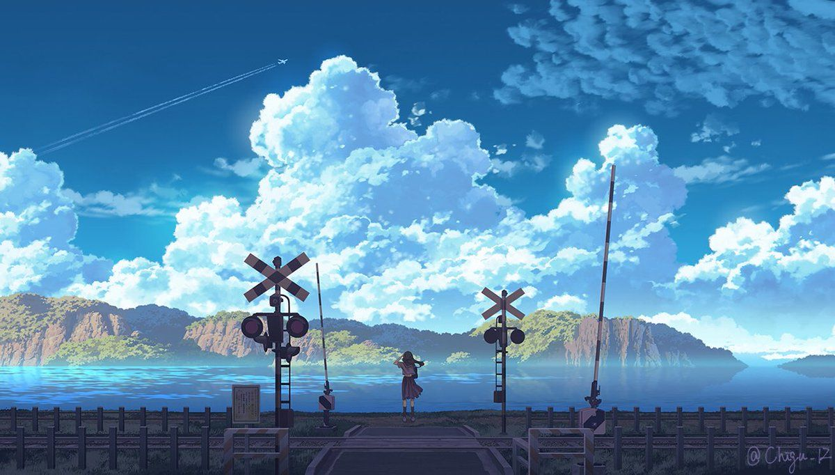 Chigu on in 2020 Anime scenery wallpaper, Anime scenery