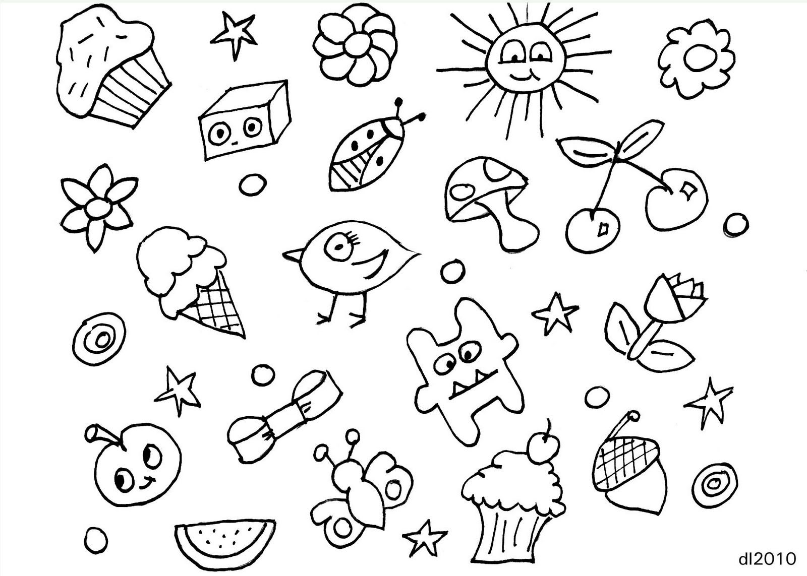 More basic doodles...easy for kids. | *Oodles of Doodles ...
