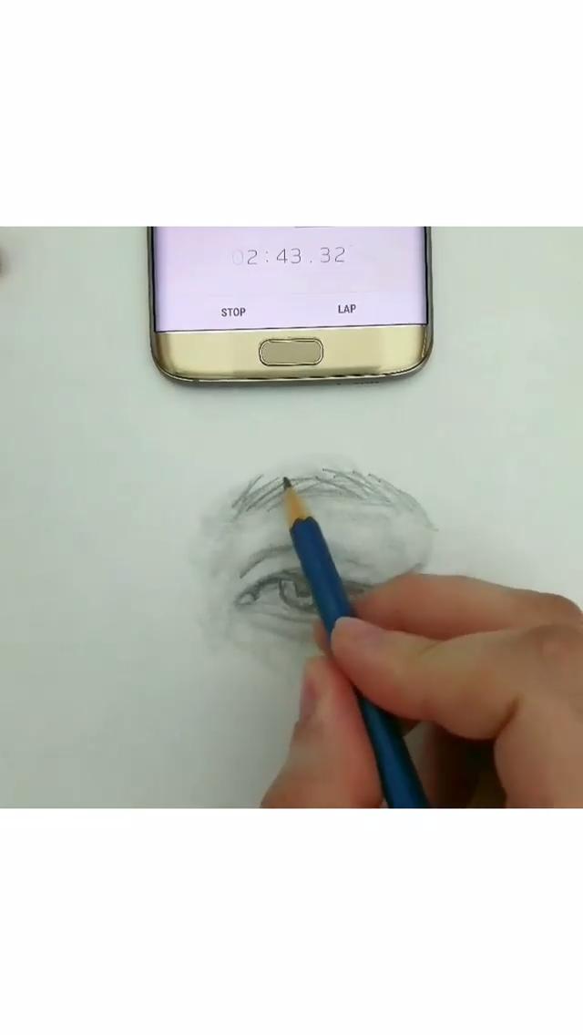How to Draw/ sketch Eye Great art by Ronald Restituyo #art #artvideos #sketch #e…