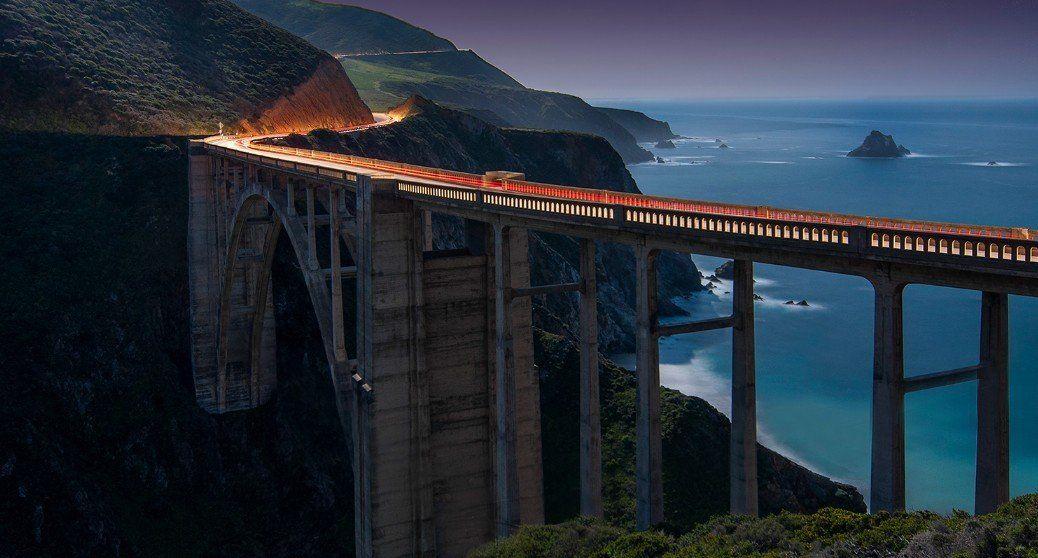 Мост Биг-Сюр, Штат Калифорния, США