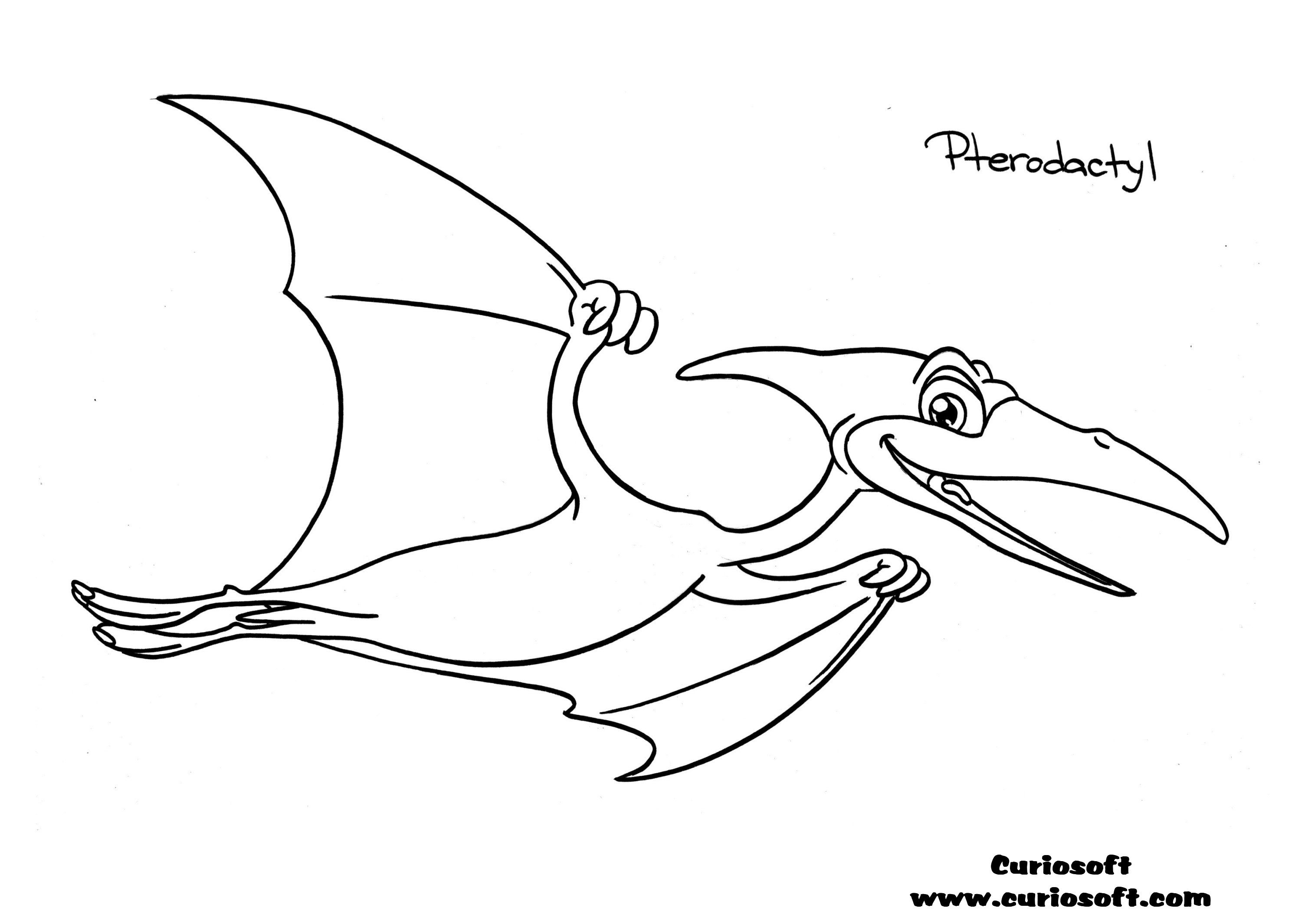 Interactive dinosaur coloring pages - Free Kids Games Coloring Pages